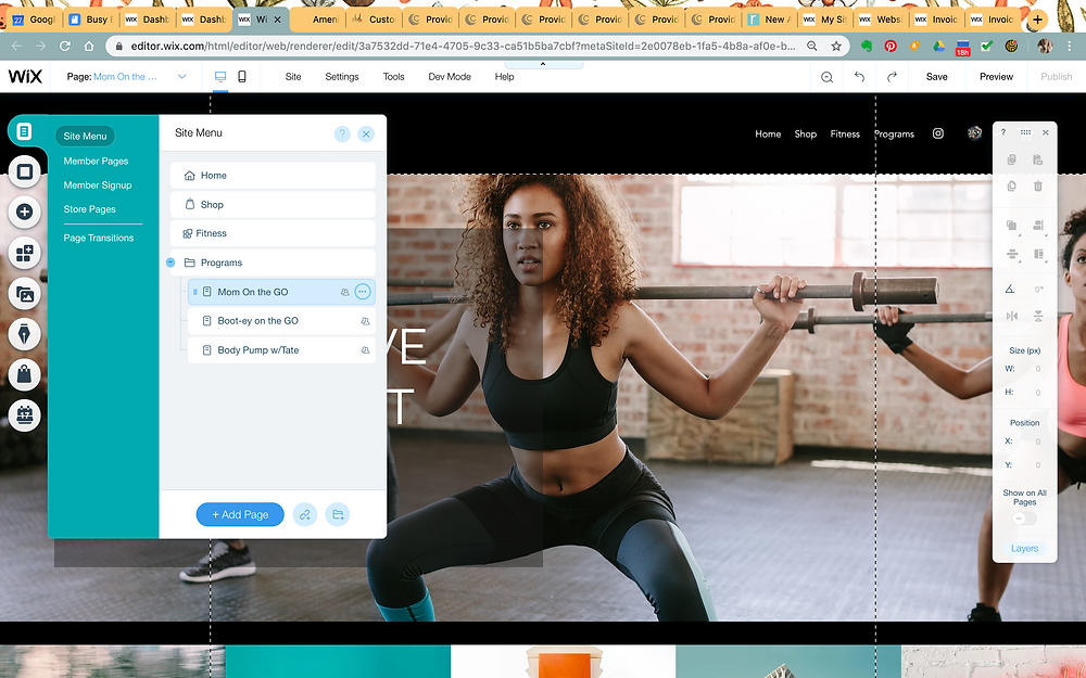 busy bodies fitness website help