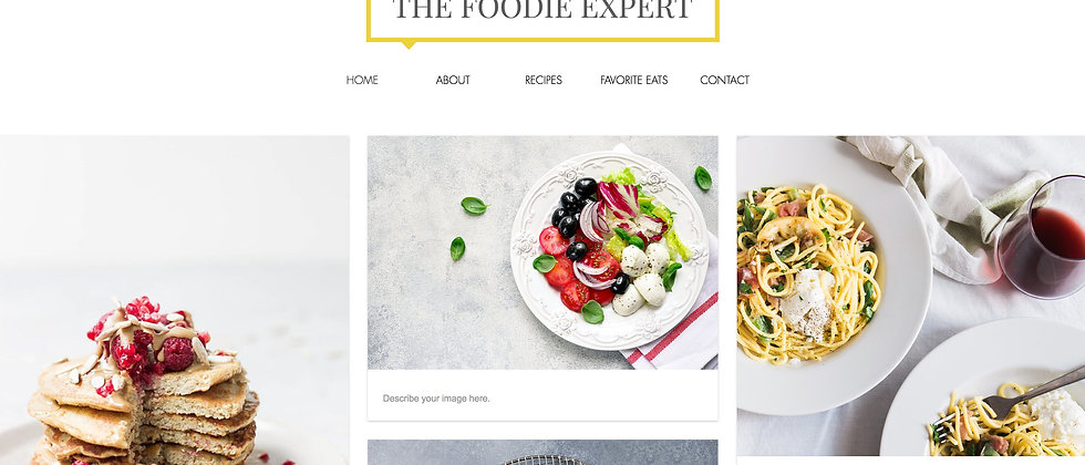 The Foodie Expert