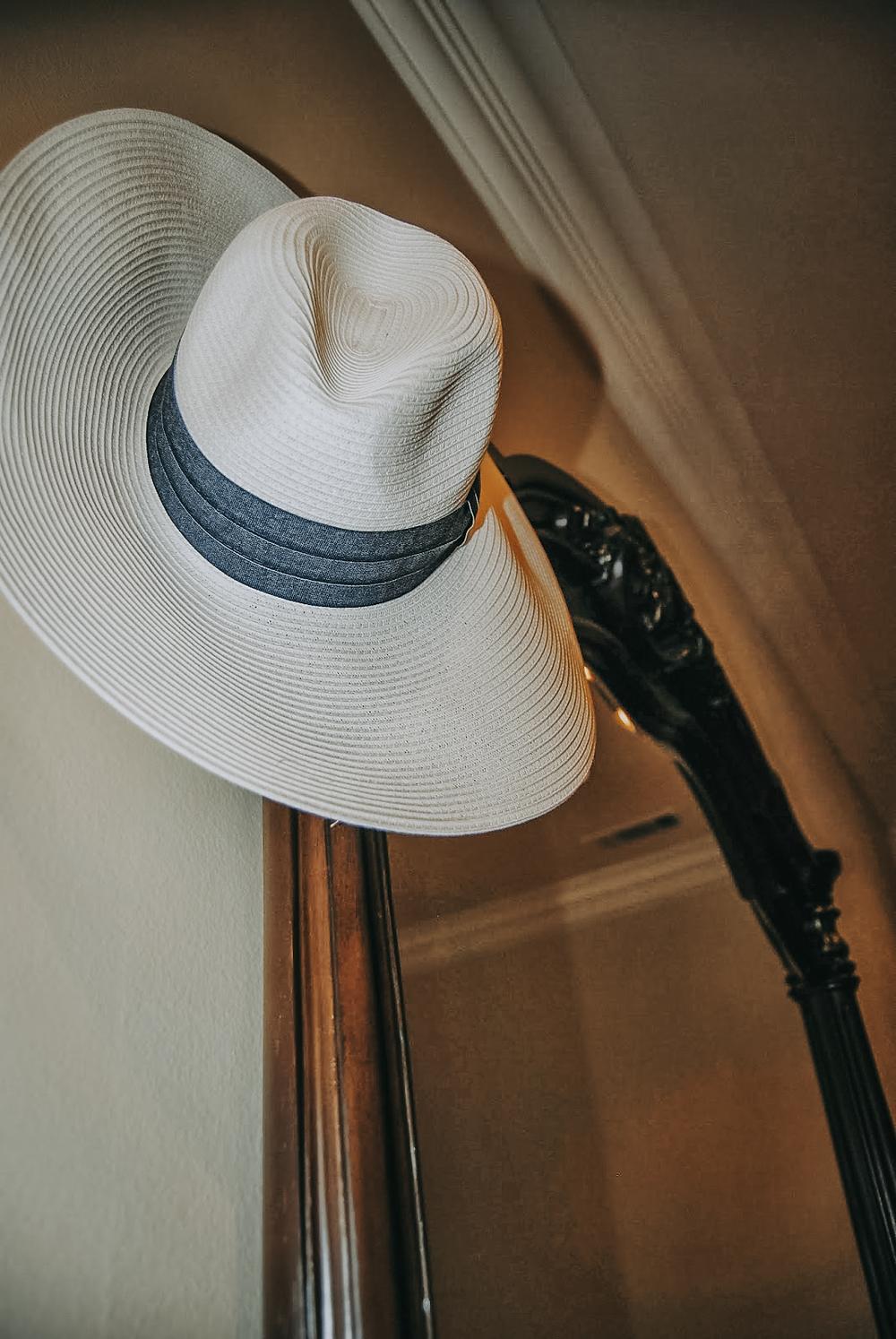 california summer pool hat