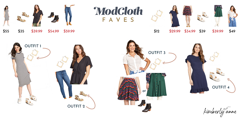 modcloth outfit ideas