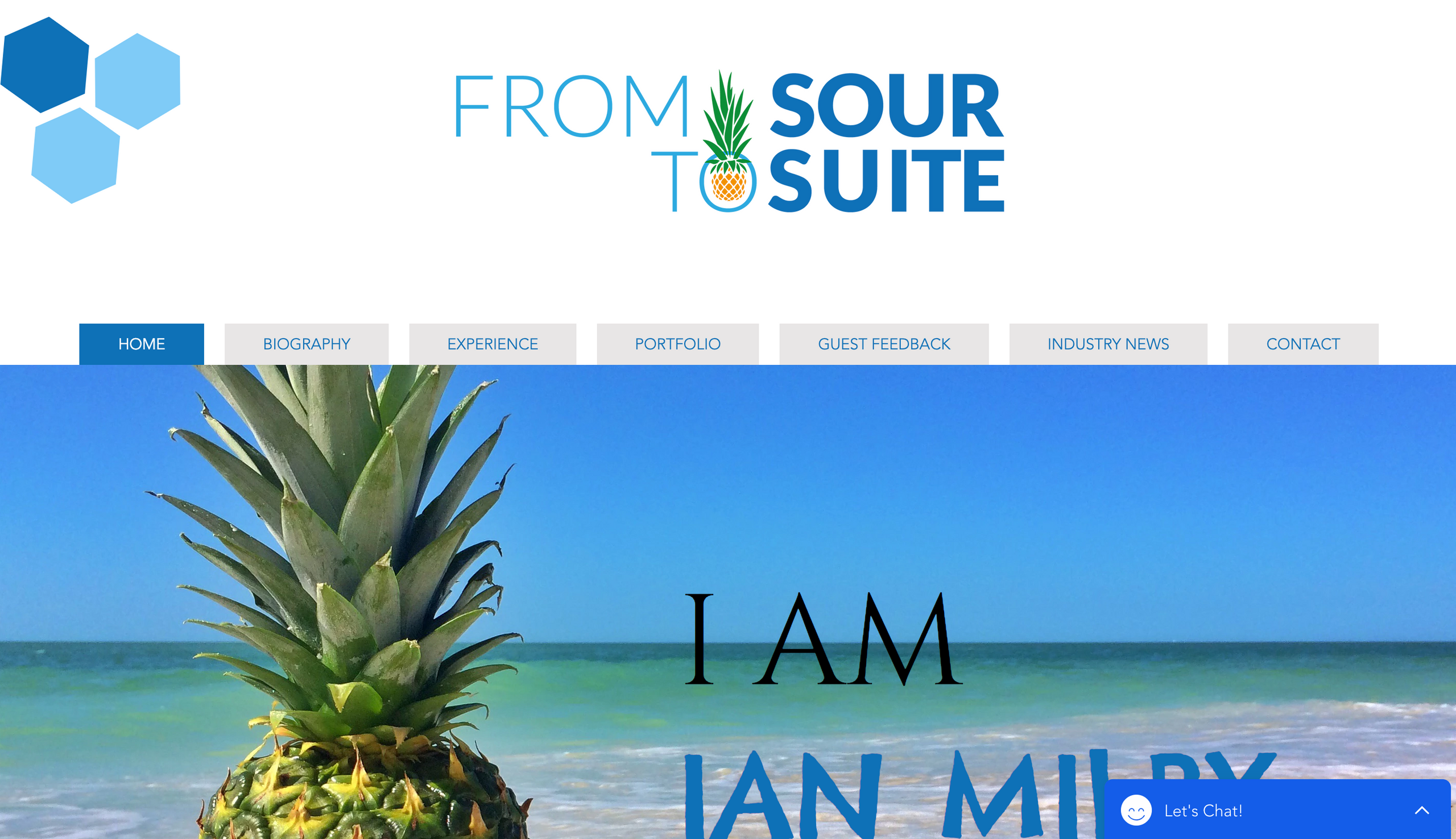 From Sour to Suite Website Design