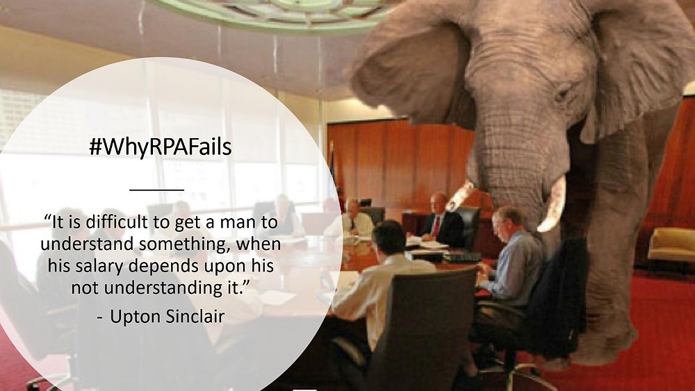 Elephant in the RPA room