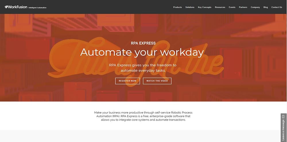 WorkFusion RPA Express