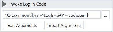 Using invoke workflow file in UiPath