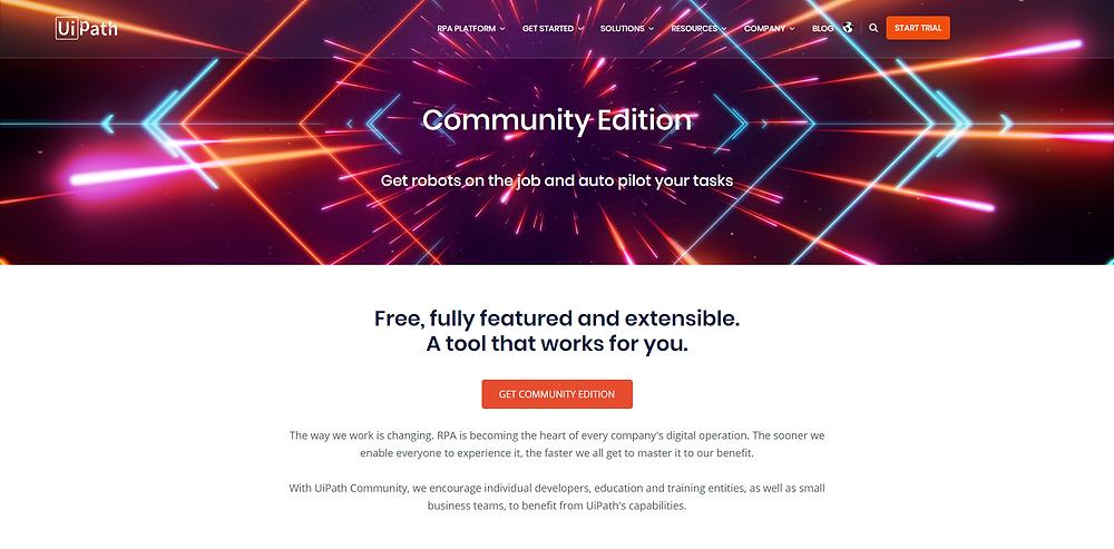 CFB Bots | UiPath Community Edition