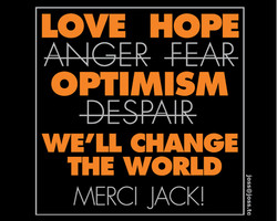 Jack Layton t-shirt