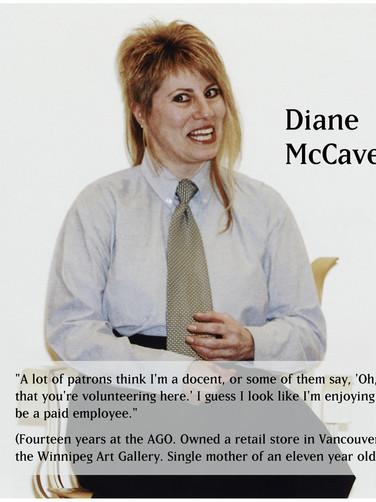 Diane McCaveney in uniform