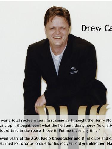 Drew Carter in uniform