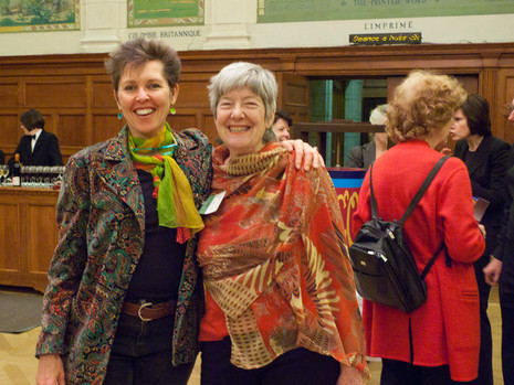 With Megan Williams, organizer of the project