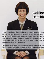 Kathleen Trumbley in uniform