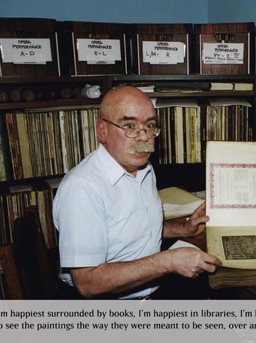Bill McIntyre at home