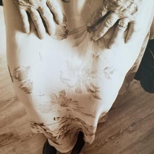 My mother's hands were magic