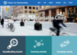 Clean Air website design