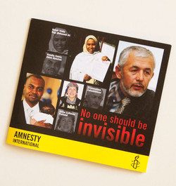 Amnesty No one should be invisible
