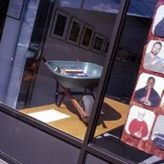 Oakwood Ave. studio window