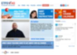 ETFO AQ website design
