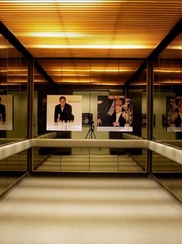 Installation in AGO elevator
