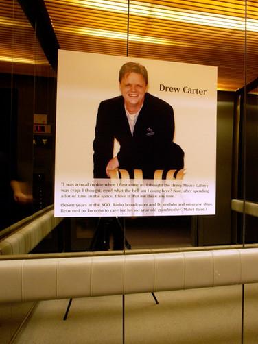 Installation in AGO elevator (Drew Carter)