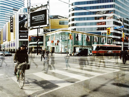 Video billboard, Yonge & Dundas