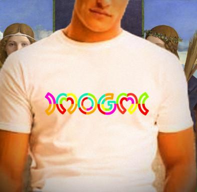 Collage-IMOGMI-Print auf T-Shirt / 2021
