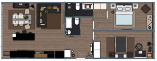 Planta 2D | Apartamento T2