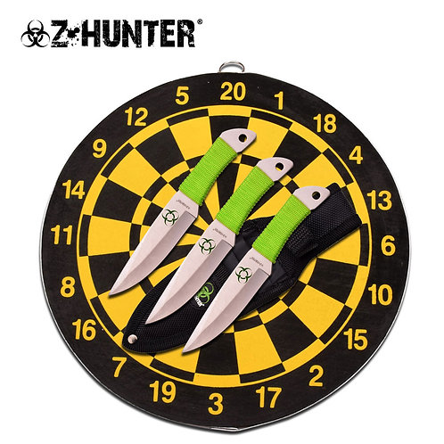 """6.5"""" Overall Throwing Knife Set"""