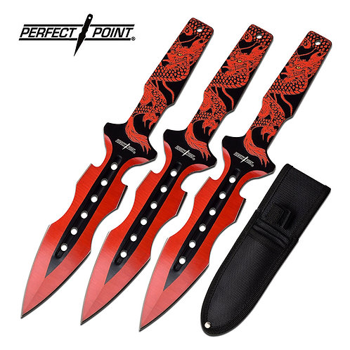 "7.5"" Overall Throwing Knife Set"
