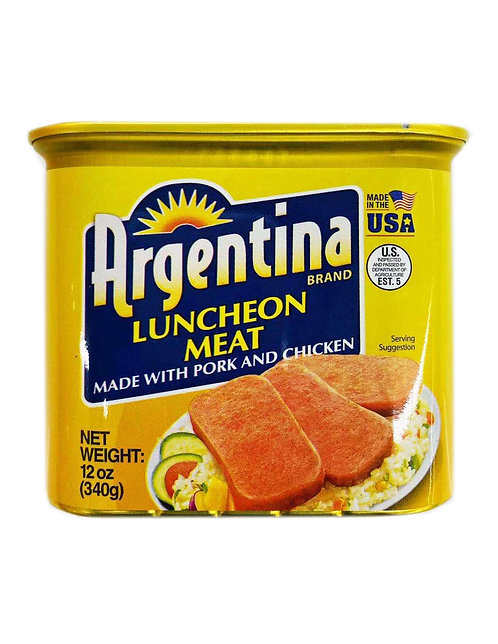 12oz Argentina Pork & Chicken Luncheon Meat