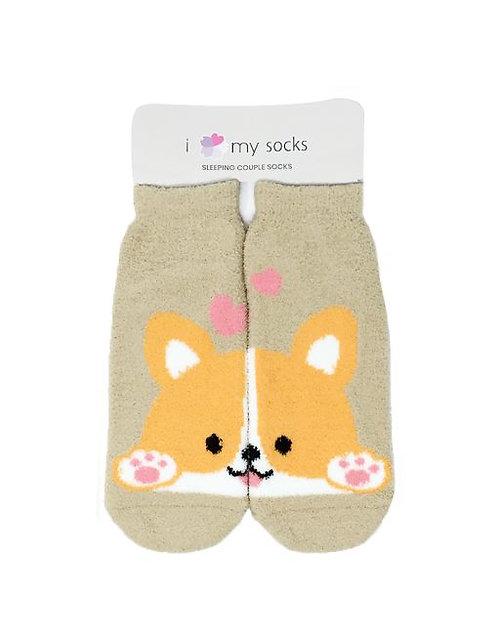 Couple Sleeping Socks-Lovely Dog