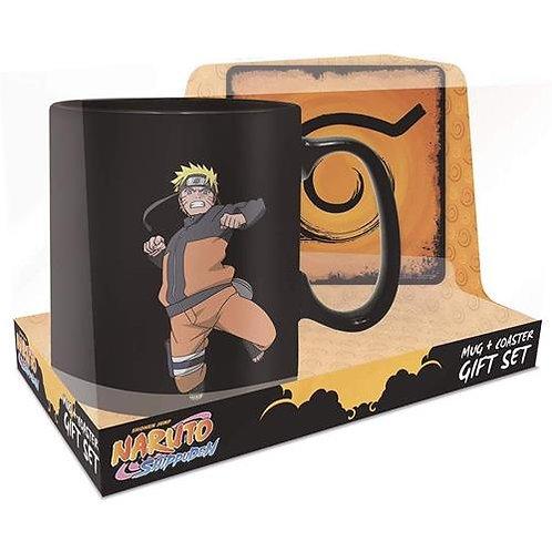 Naruto Magic Mug W/ Coaster