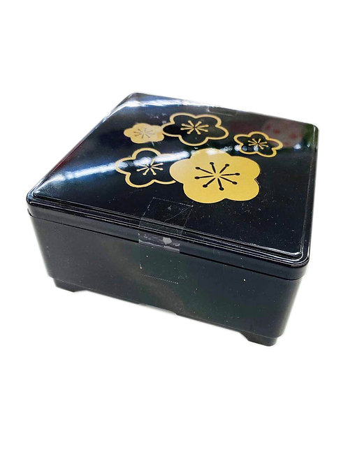 Japanese Black Square Plastic Bento Box