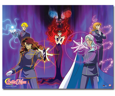 Sailor Moon Beryl's Group Wall Scroll