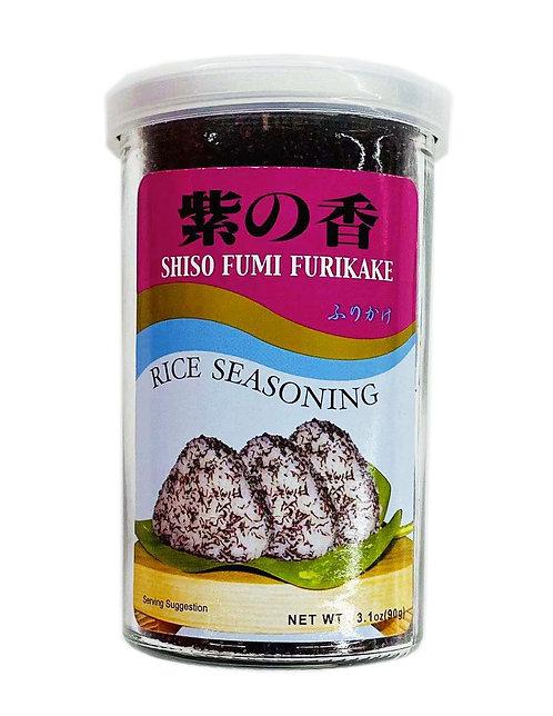 3.1oz Furikake Rice Seasoning Shiso Fumi