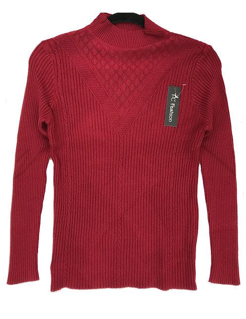 Women Knitting Sweater Style 2