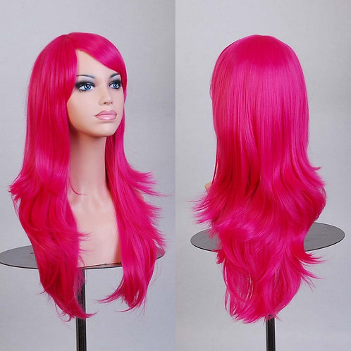 Wild Strawberry Light Curly Wig Synthetic Medium