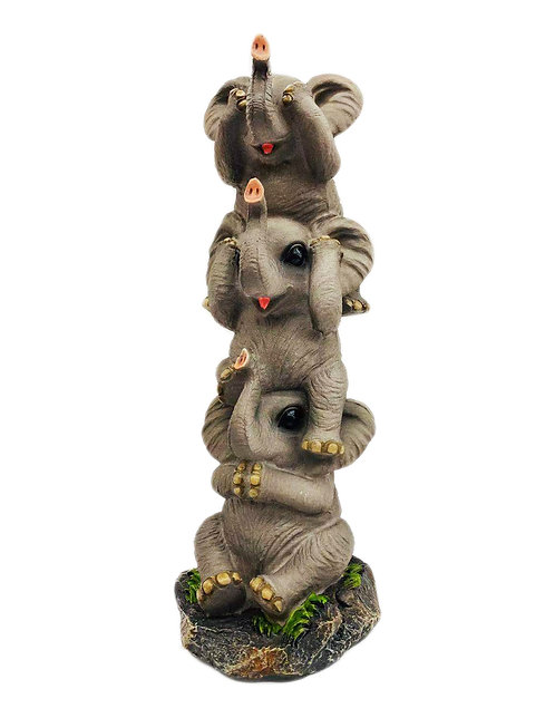 "10"" See No Evil Elephant Pachy/Derms"