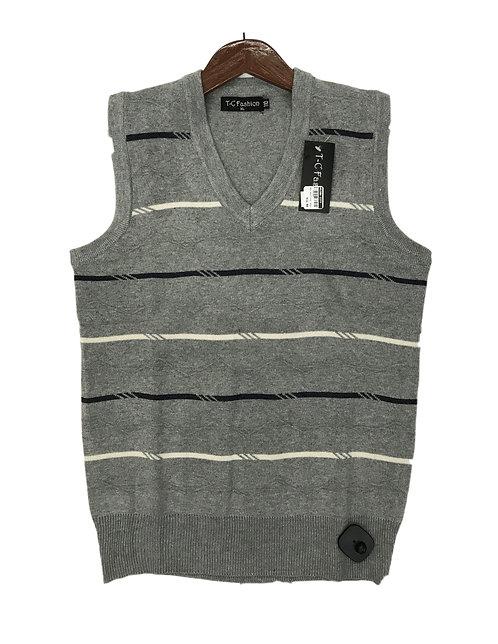 Men Knitting Winter Vest Style 5