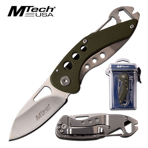 """5.6"""" Overall Spring Assisted Knife"""