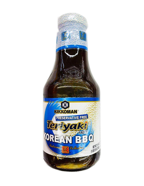 21.25oz KIKKOMAN Teriyaki  Korean BBQ Sauce