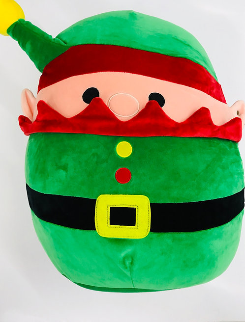 "12"" Squish Mallow Christmas Santa Claus"