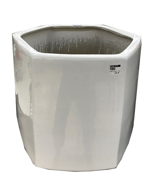 White Multi Size Pot