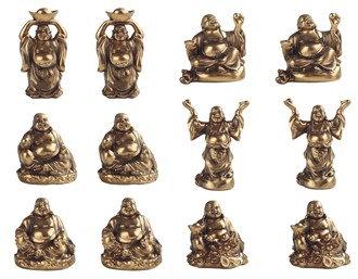 "2"", Miniature Maitreya 12 PC Set"