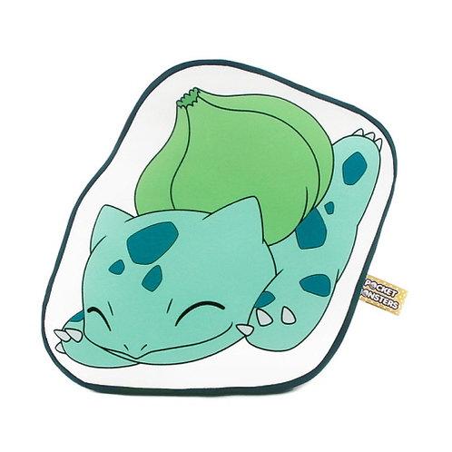 Pokemon Outlined Nap Cushion - Bulbasaur