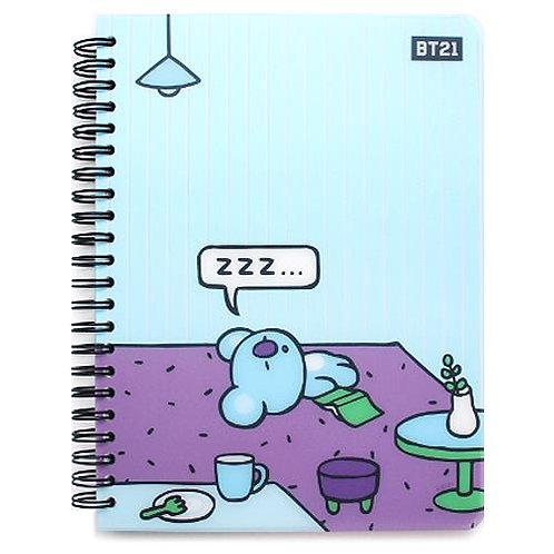 BT21 PP Cover Notebook - Koya
