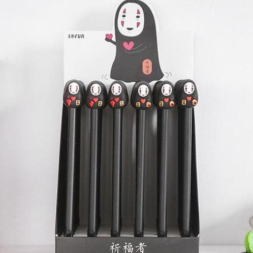 No Face (Kaonshi) Slim Gel Pens