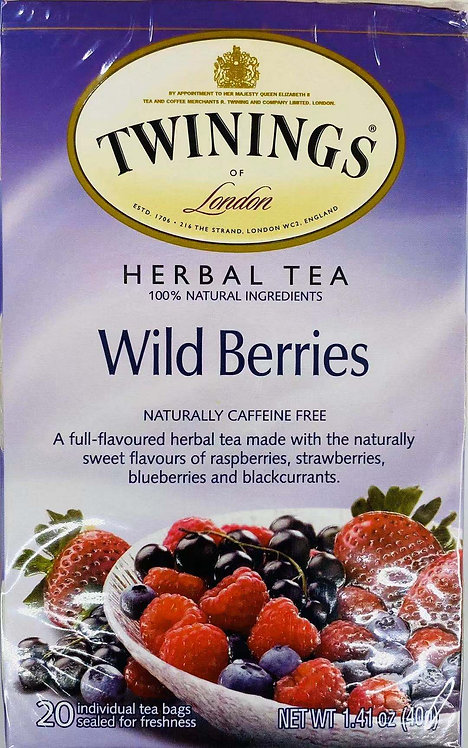 1.41oz Twinings Wild Berries Tea