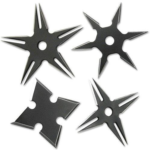 2.5'' Diameter Throwing Star Set