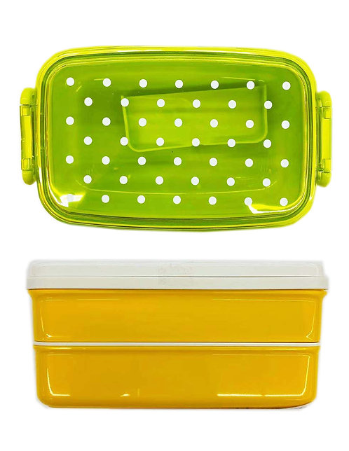 Dot Lunch Box With A Divider