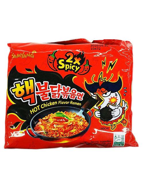 5PC Samyang 2x Hot Chicken Noodle