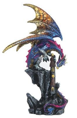 "8 1/2"", Blue Dragon on Castle"